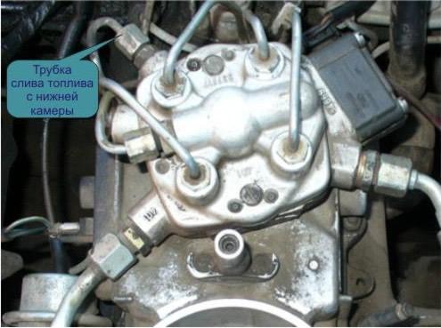 проверка топливных форсунок мерседес двигатель 103